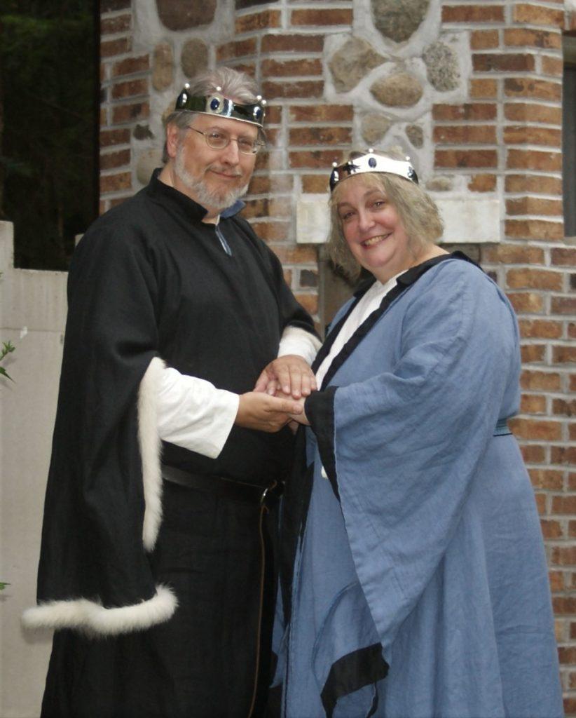 Baron Eldjarn and Baroness Dubheasa