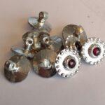 Garnet Buttons